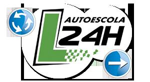 Carnet A Barcelona · Autoescuela Barcelona 24 horas Logo